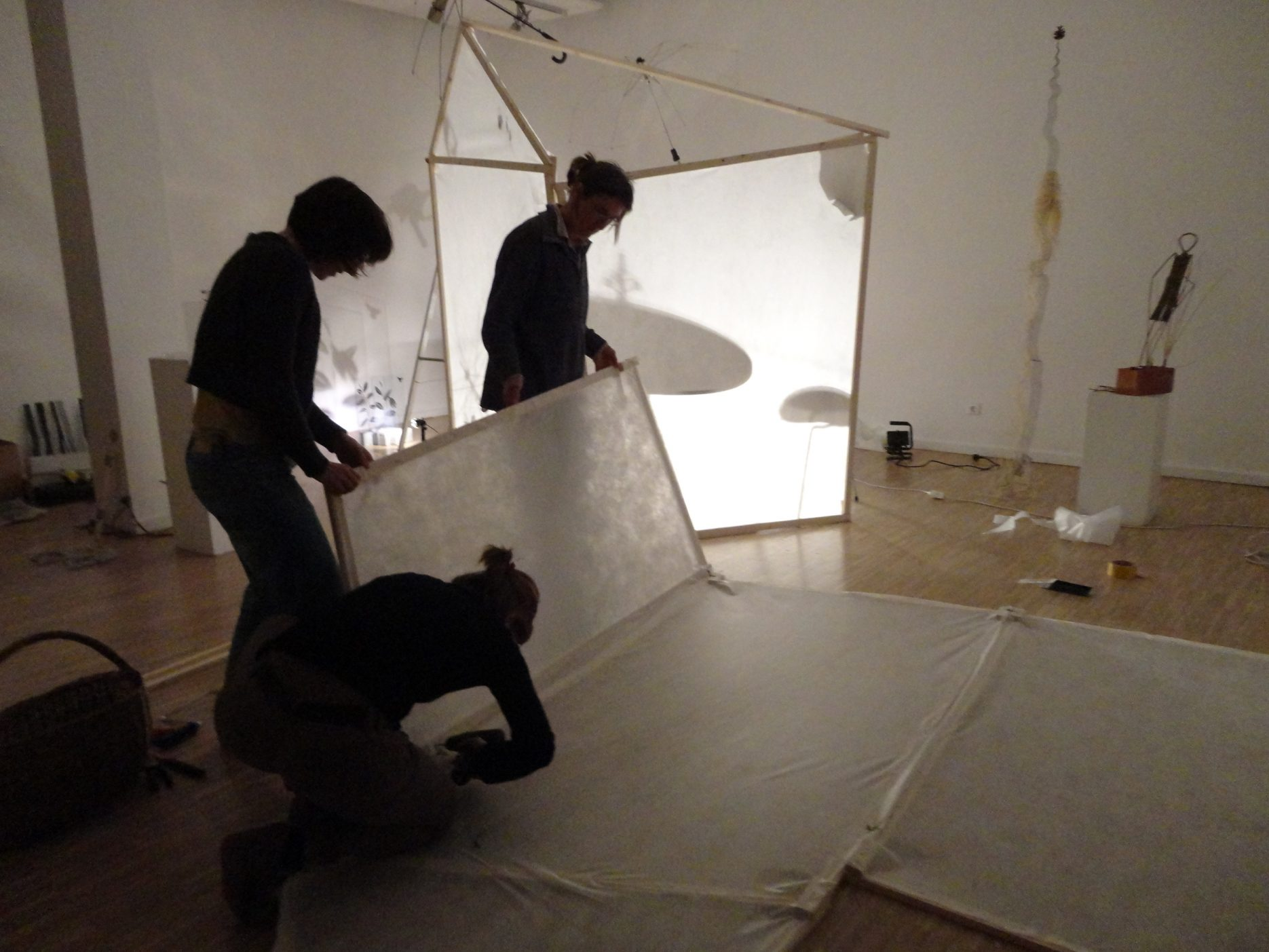 Kunstausstellung Lichtspiel galerie gedok stuttgart