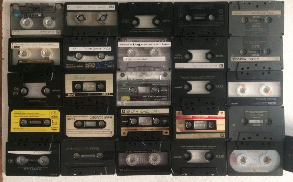 tiinakirsikern hausvier nürtingen materialsammlung kassettenband