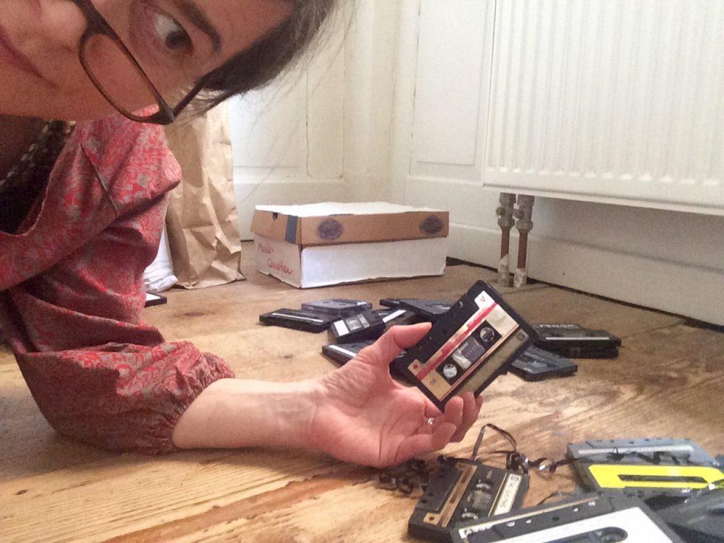 tiinakirsikern soundchek kassettenband